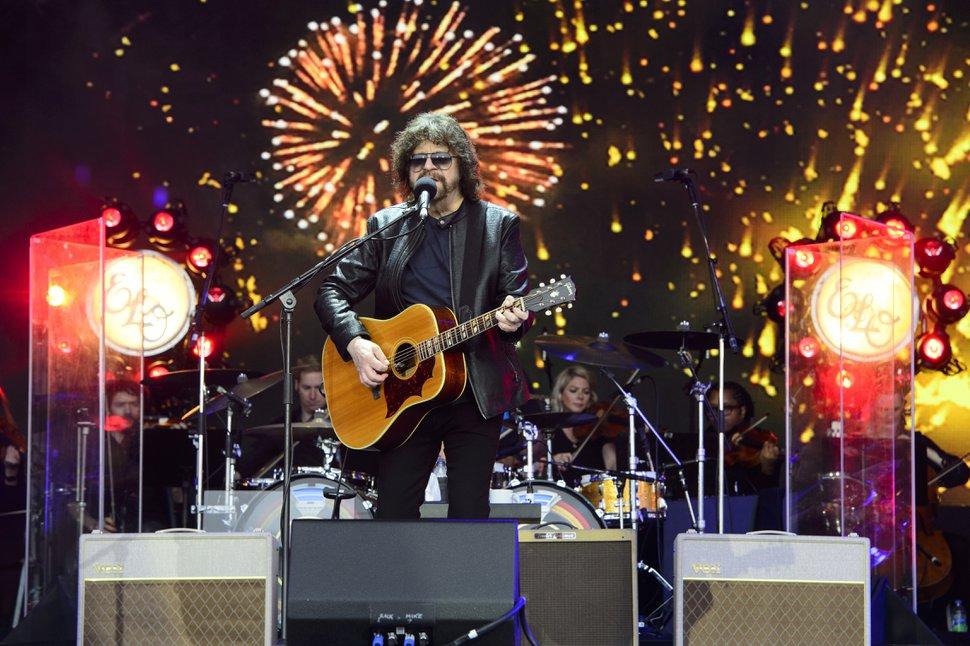 AP file photo Electric Light Orchestra's Jeff Lynne