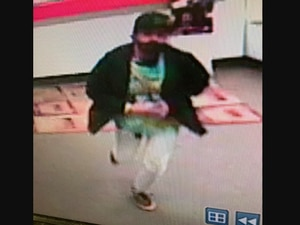 (Photo courtesy of the West Jordan Police Department) Police believe this man repeatedly ran over a store clerk with his car.