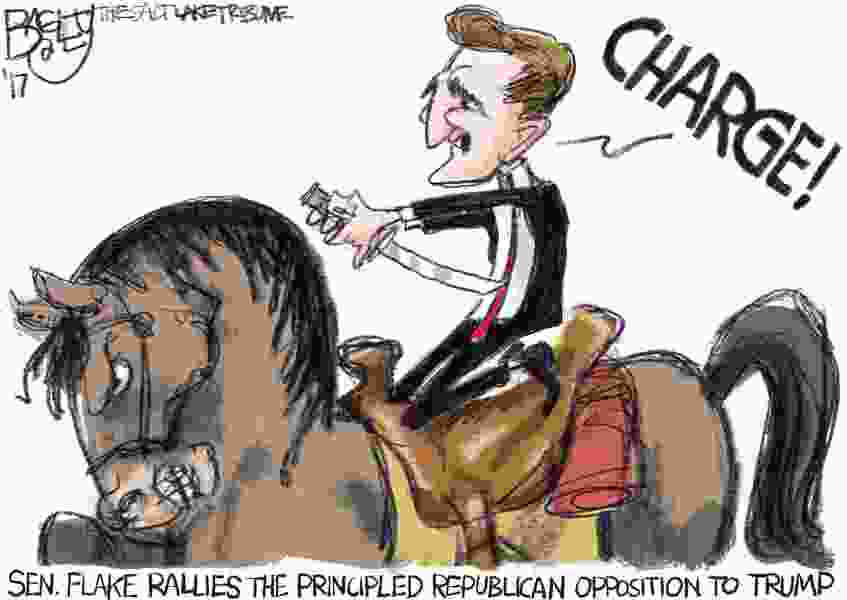 Bagley Cartoon: Republicans With Principles