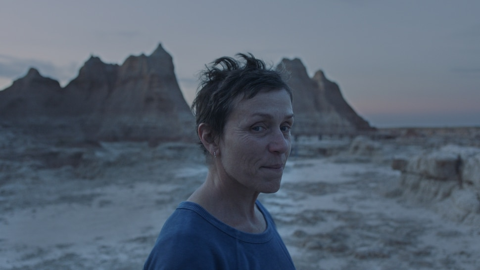 (Photo courtesy of Searchlight Pictures) Frances McDormand stars in director Chloe Zhao's drama Nomadland.