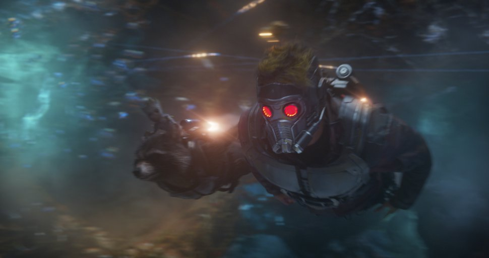 This image released by Disney-Marvel shows Chris Pratt in a scene from,
