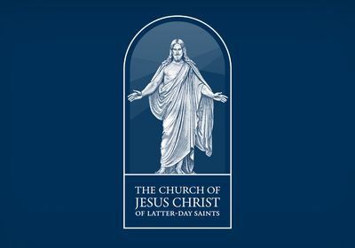 (The Church of Jesus Christ of Latter-day Saints) The church's symbol.