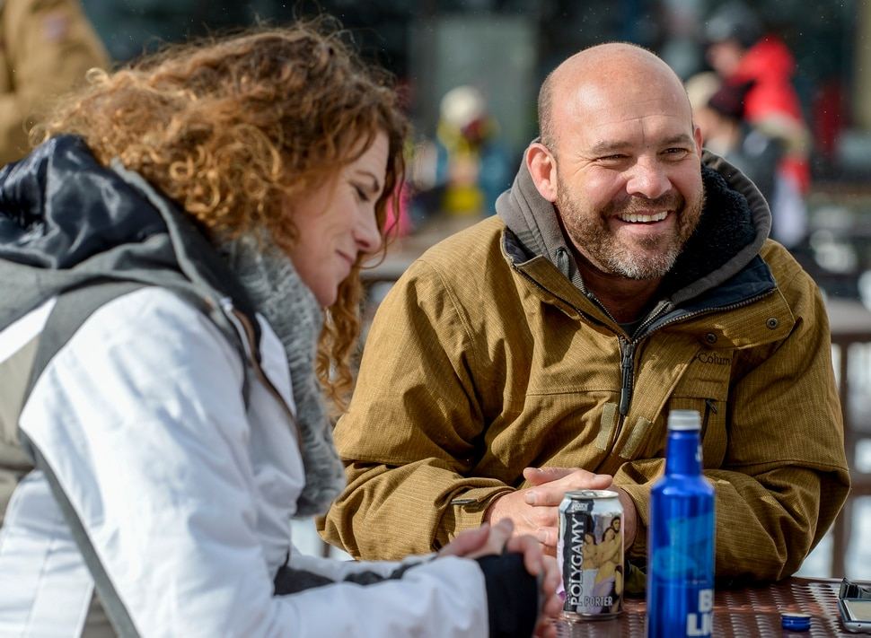 (Leah Hogsten | The Salt Lake Tribune) Utah's new toughest-in-the-nation drunken driving law, which takes effect Dec. 30, is an incentive not to come, said Californian Michael Donoghue. Donoghue says he's spent on average between $12,000 to $15,000 each year on a week of skiing in Utah for his family and friends, jetting them to Utah, renting a house, cars, ski equipment and dining. At left is his friend, Nancy Jantzen. The new law lowers the blood alcohol content (BAC) at which drivers are presumed to be drunk, from 0.08 to 0.05.