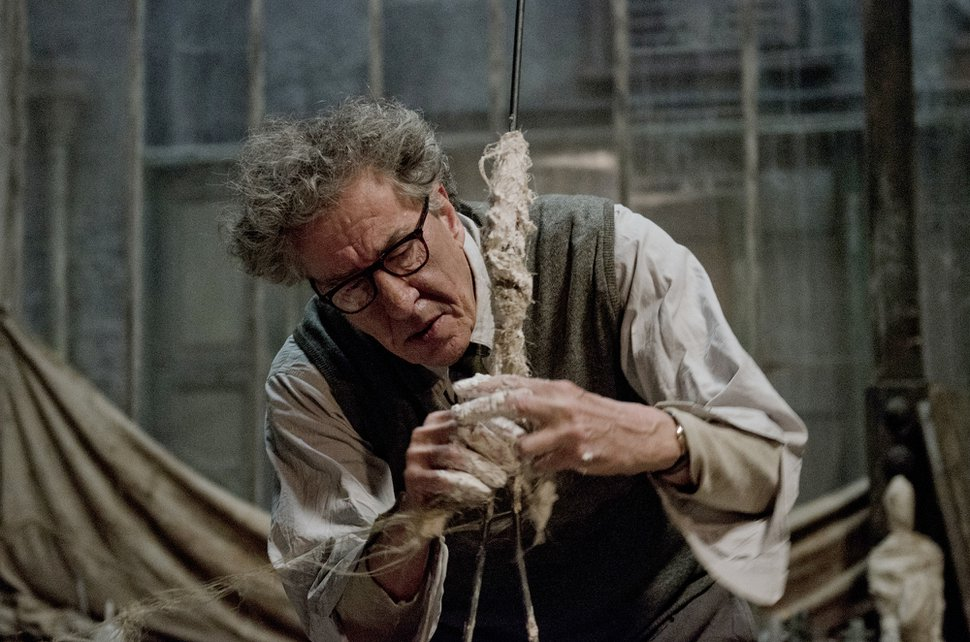 (Courtesy Parisa Taghizadeh | Sony Pictures Classics) Geoffrey Rush plays the artist Alberto Giacometti in