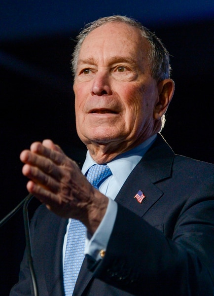 (Leah Hogsten | The Salt Lake Tribune) Democratic presidential candidate Mike Bloomberg, the multibillionaire former New York City mayor, made his second visit to Utah on Thursday, Feb. 20, 2020 to campaign ahead of the state's primary on Super Tuesday.