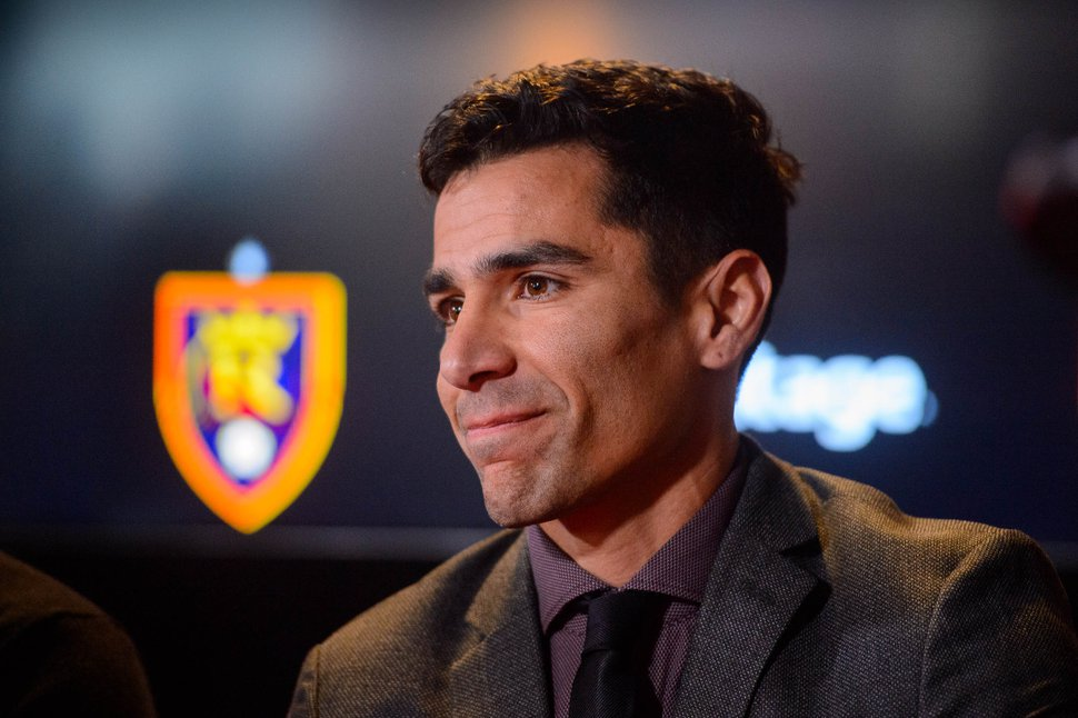(Trent Nelson | The Salt Lake Tribune) Real Salt Lake Assistant General Manager Tony Beltran during a news conference at Rio Tinto Stadium in Sandy on Tuesday Dec. 3, 2019.