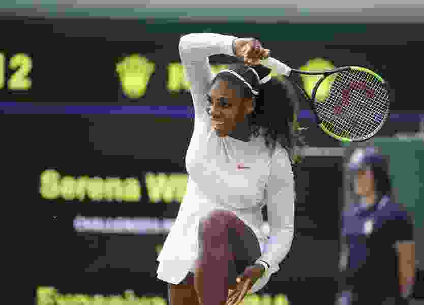Serena Williams, Roger Federer reach quarterfinals at Wimbledon