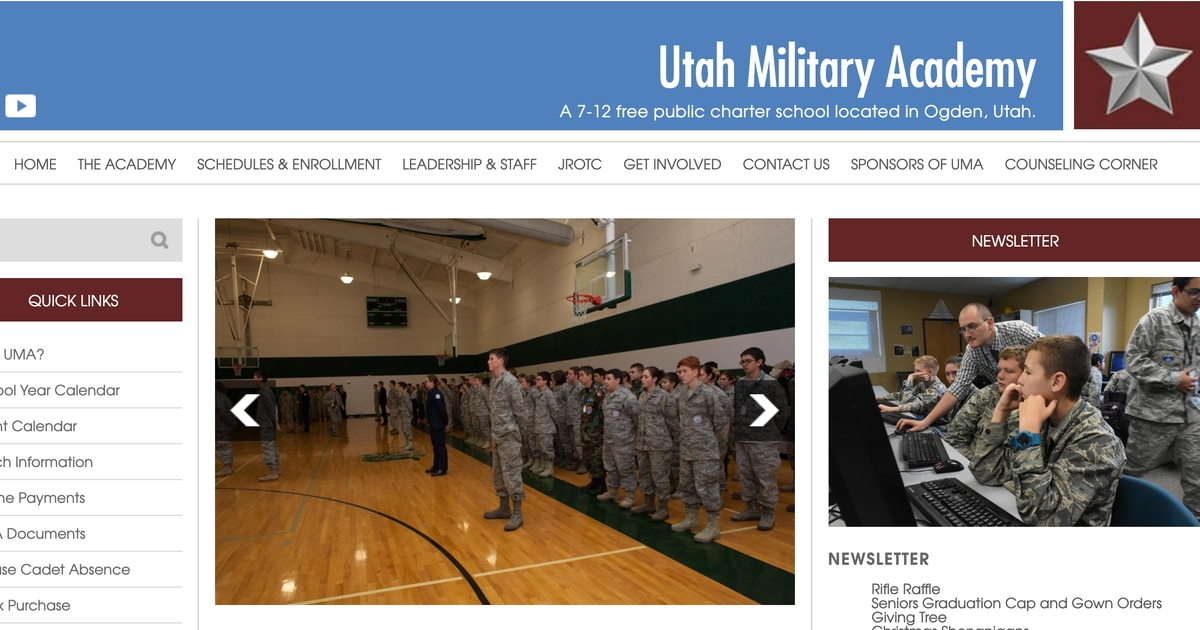 Two Utah Military Academy students die from strains of the flu