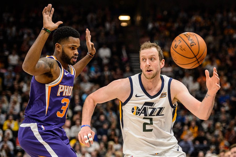 Jazz overcome Booker and Jimmer to trounce Suns 125-92 for seventh win in eight games