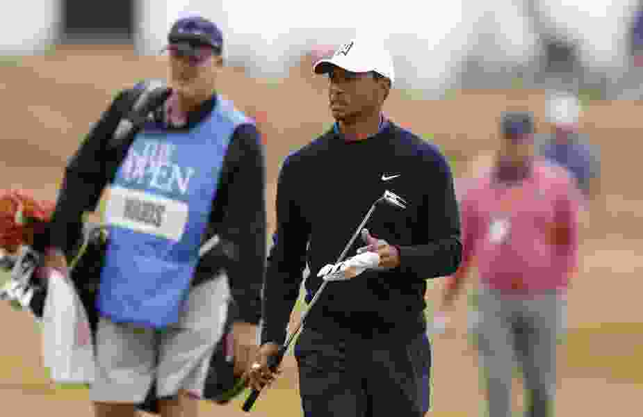 Tiger Woods says British Open becomes his best shot at a major