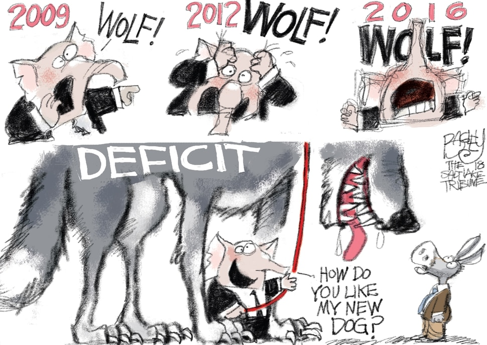 (Pat Bagley | The Salt Lake Tribune) This Pat Bagley cartoon appears in the Feb. 8, 2018, Salt Lake Tribune.