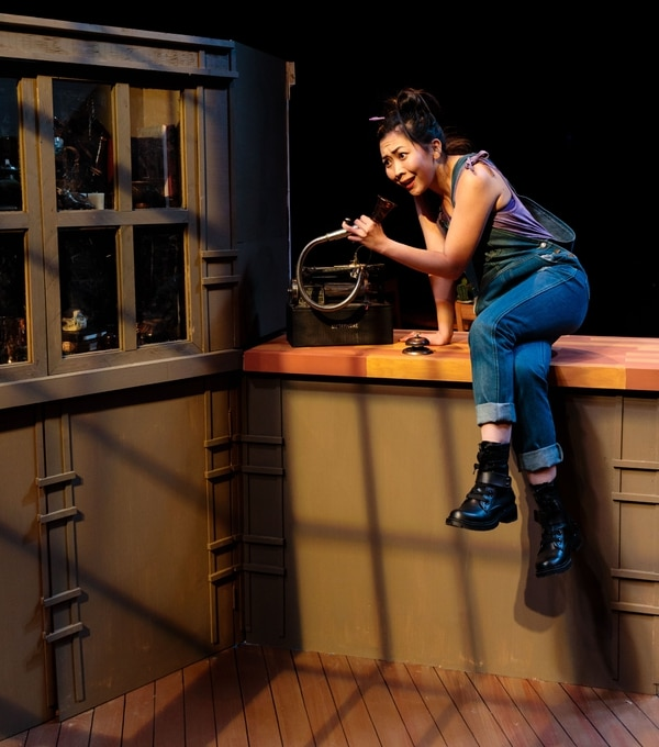 (Courtesy dav.d daniels photography) Lily Hye Soo Dixon in Salt Lake Acting Company's production of