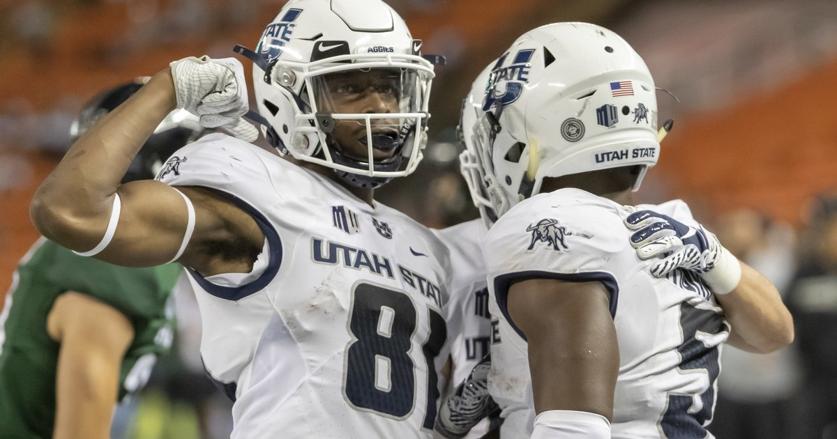 Utah State scalds Nevada 36-10, starting with Savon Scarvers fifth kickoff return for a touchdown