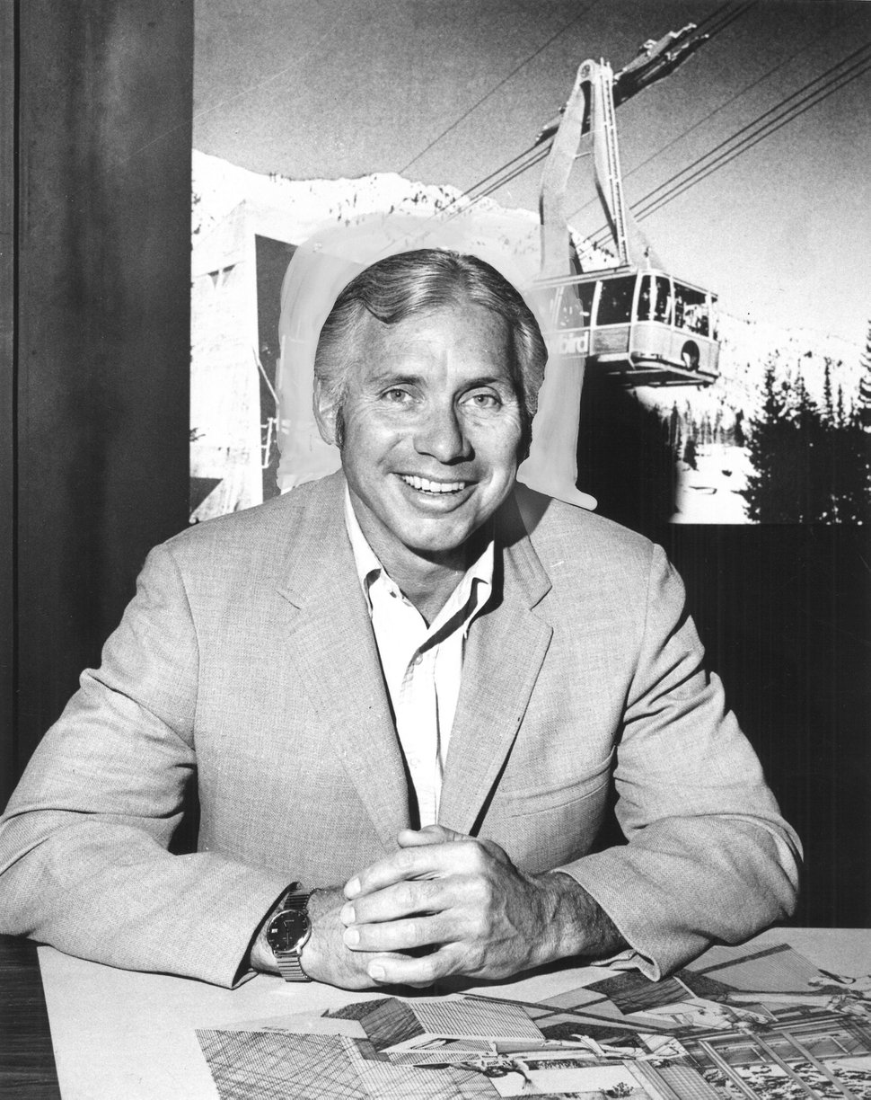 (Tribune File Photo) Ted Johnson, the co-founder of Snowbird Ski & Summer Resort, died Monday, Jan. 29, 2018. Photo received Sept. 3, 1972.
