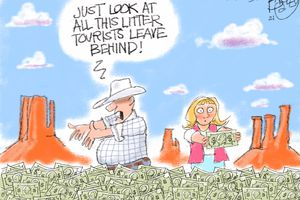 There's Money in Those Monuments | Pat Bagley