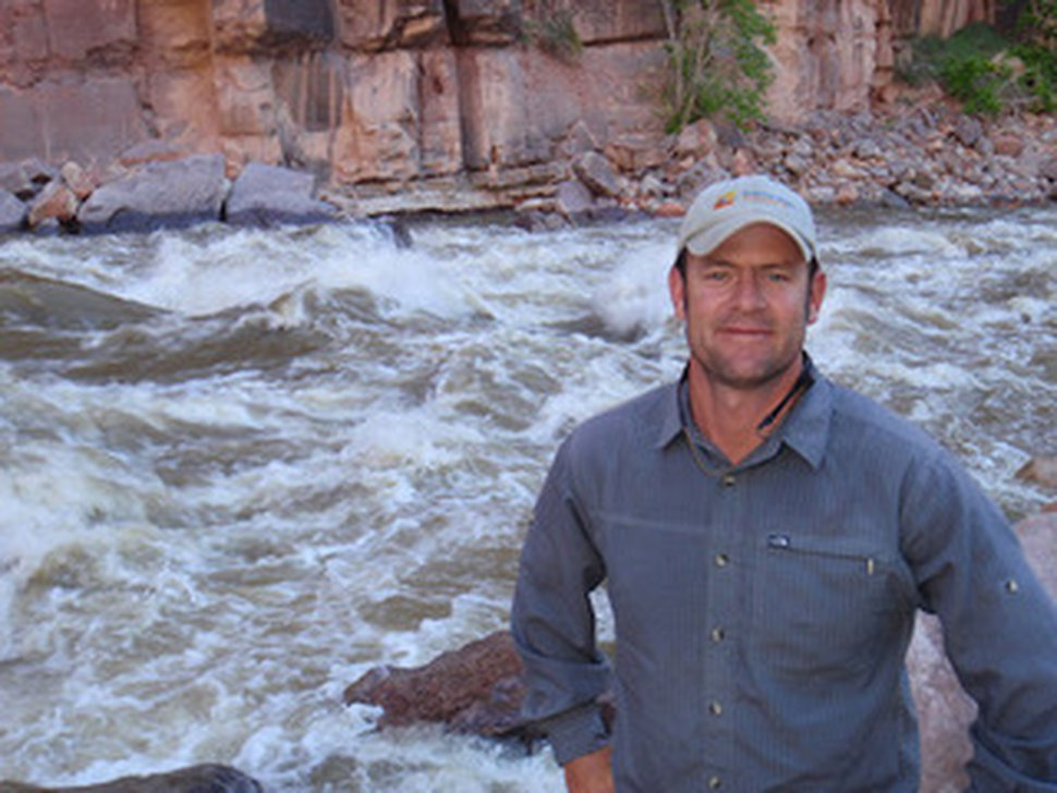Matt Rice, director of the Colorado Basin Program at the national river advocacy nonprofit American Rivers.