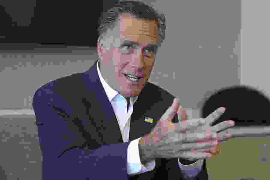Utah's Mitt Romney has a message for the NCAA: 'We're coming for you'