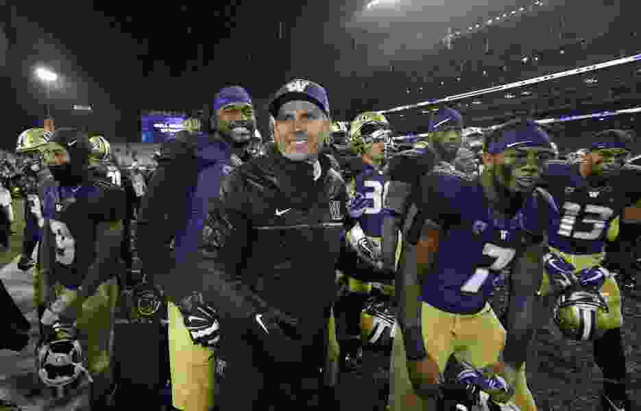 Another playoff appearance is out of the picture, but Washington's rise under Chris Petersen continues