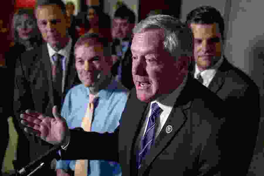 Trump escalates impeachment fight, barring envoy's testimony