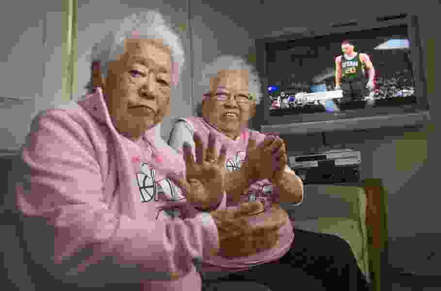 Utah Jazz fan Keiko Mori, one of the famous 'Pink Grandmas,' dies at 88