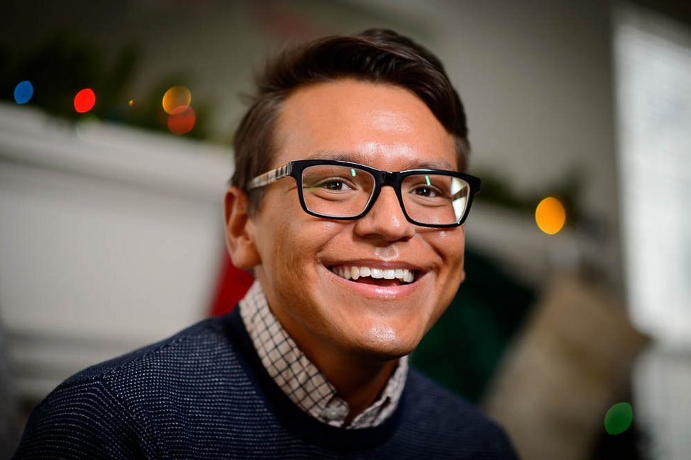 (Trent Nelson | The Salt Lake Tribune) Zachary Ibarra, photographed in Provo on Thursday, Nov. 29, 2018. Ibarra was told he would have to wait three years to serve a mission after confessing he kissed a boy.
