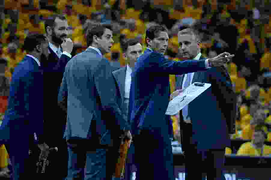 Jazz coach Quin Snyder's new initiative puts team's entry-level staff on a path to potential NBA coaching jobs