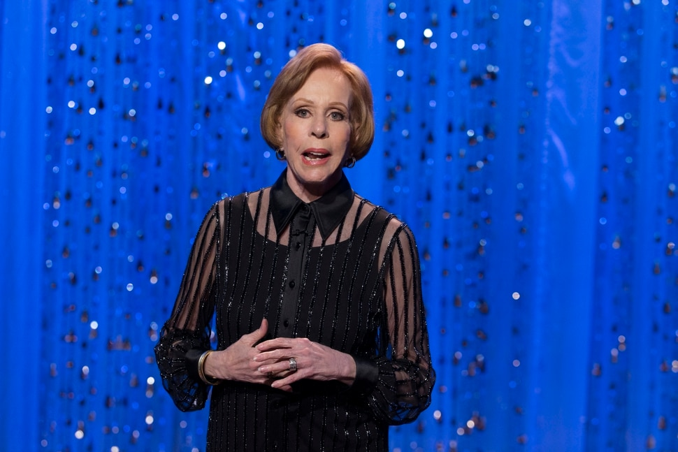 """(Photo courtesy Cliff Lipson/CBS) CBS celebrates the 50th anniversary of Carol Burnett's classic, award-winning variety series with """"The Carol Burnett Show 50th Anniversary Special,"""" a two-hour star-studded event featuring Burnett, original cast members and special guests."""