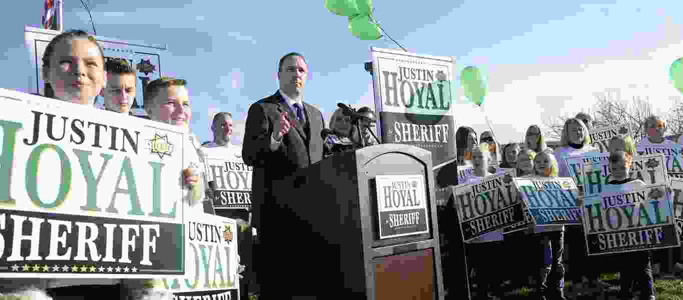 Unified Police Lt. Justin Hoyal challenges his boss in election for Salt Lake County sheriff