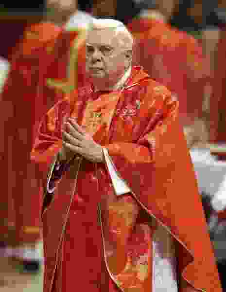 Cardinal Bernard Law, Boston archbishop at center of church sex-abuse scandal, dies at 86