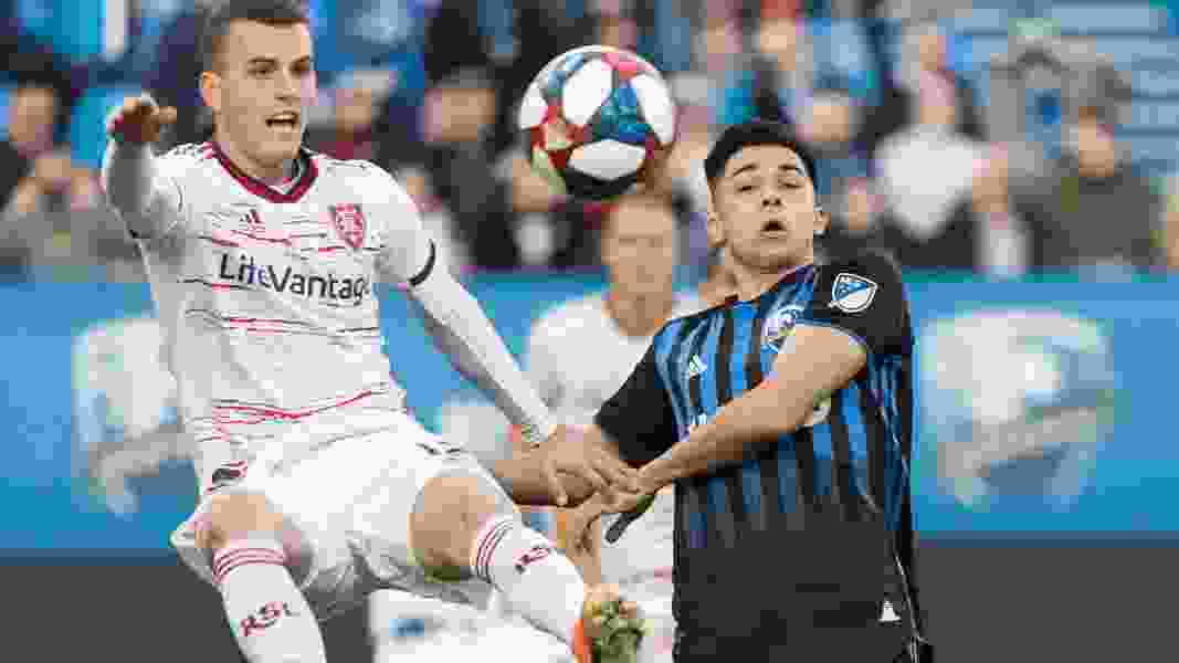 Real Salt Lake loses 2-1 to Montreal Impact, snapping three-game win streak