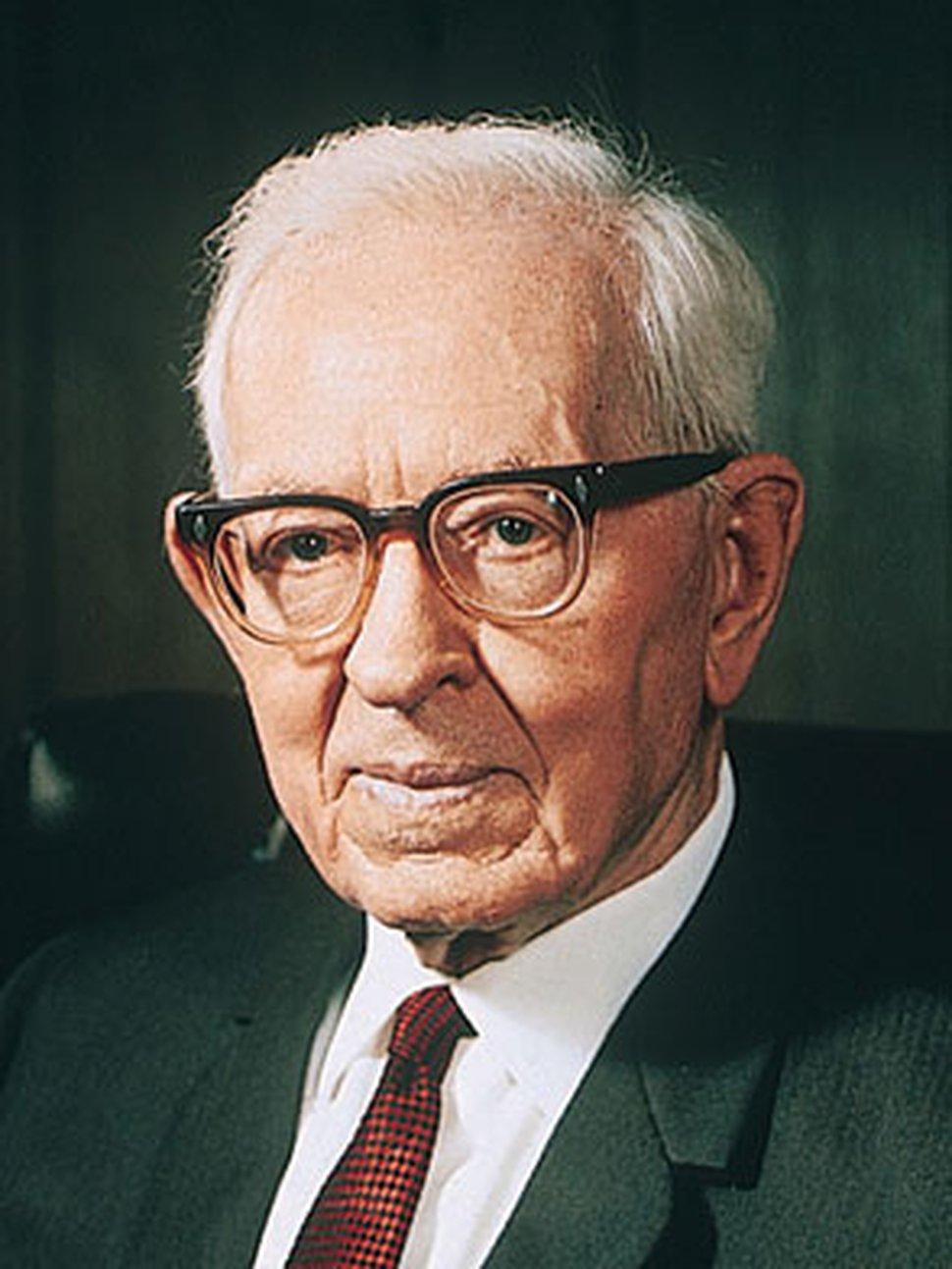 Former LDS Church President Joseph Fielding Smith