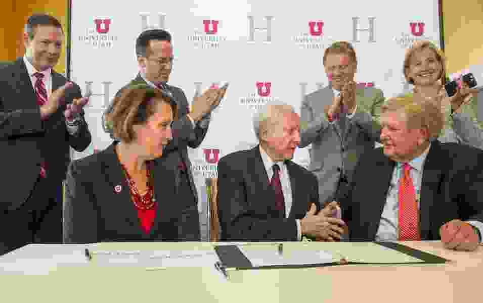 University of Utah is selling a parking lot for a center that will honor Sen. Orrin Hatch — while fighting political division
