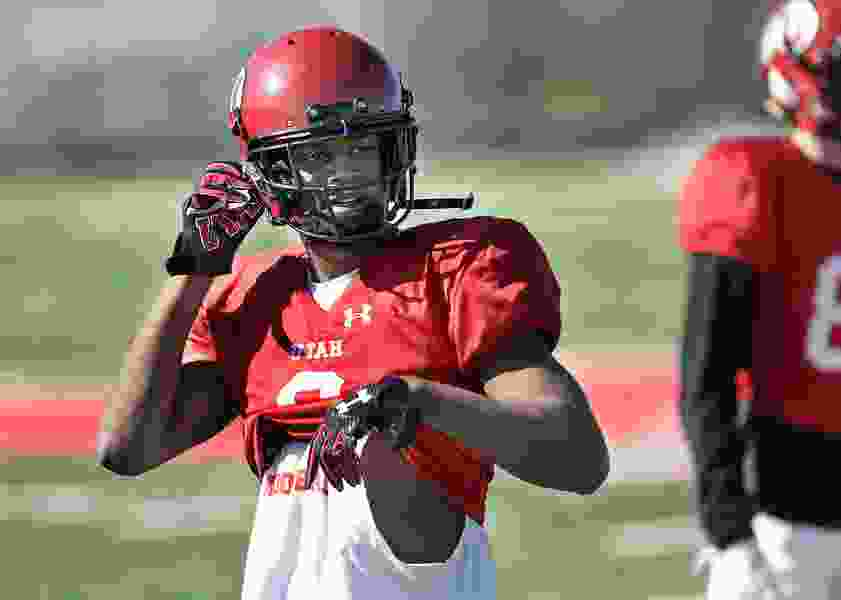 Utes receiver Bronson Boyd has made a name for himself this spring, but already has his sights set on fall