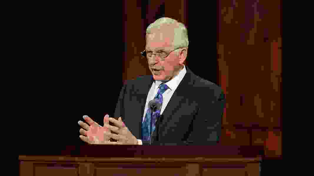 This week in Mormon Land: Apostle clarifies conference talk; good COVID news; Mitt who?
