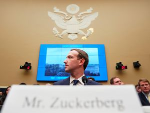 (Andrew Harnik   AP photo)  In this April 11, 2018, photo, Facebook CEO Mark Zuckerberg testifies before a House Energy and Commerce hearing on Capitol Hill in Washington, about the use of Facebook data to target American voters in the 2016 election and data privacy.
