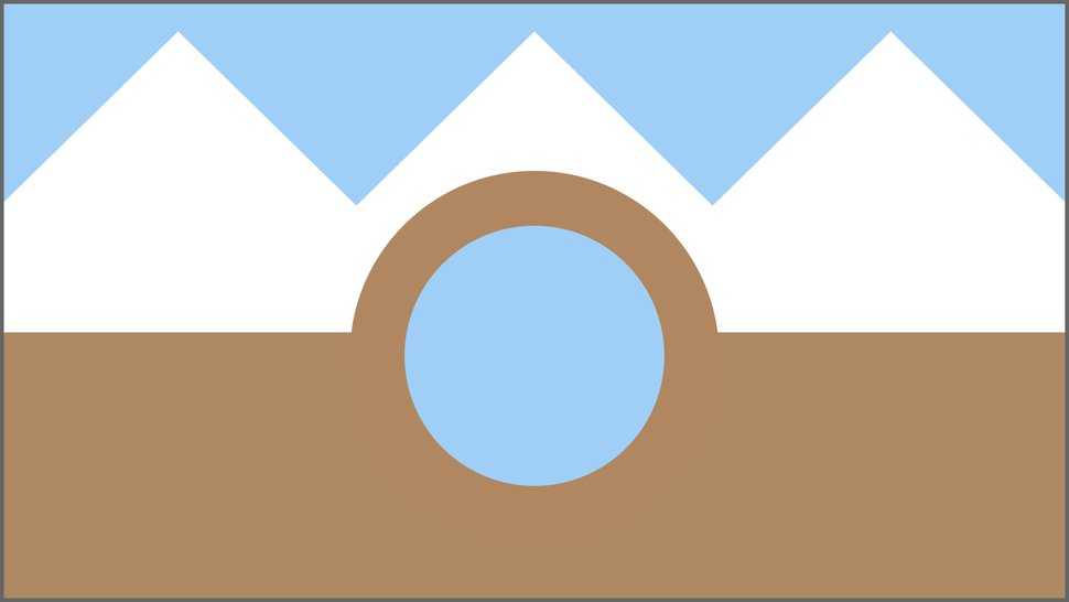 (Courtesy of David Weber) A proposed Salt Lake City flag designed by David Weber.