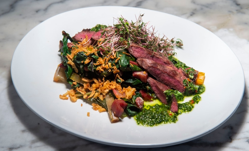 (Rick Egan | The Salt Lake Tribune) The Weekend Chop at OneOEight, a new bistro on the corner of 1300 South and 1700 East in Salt Lake City, Thursday, March 7, 2019.