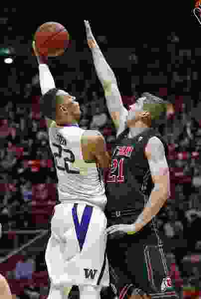Utes stay strong on defense and lead entire second half to beat Huskies