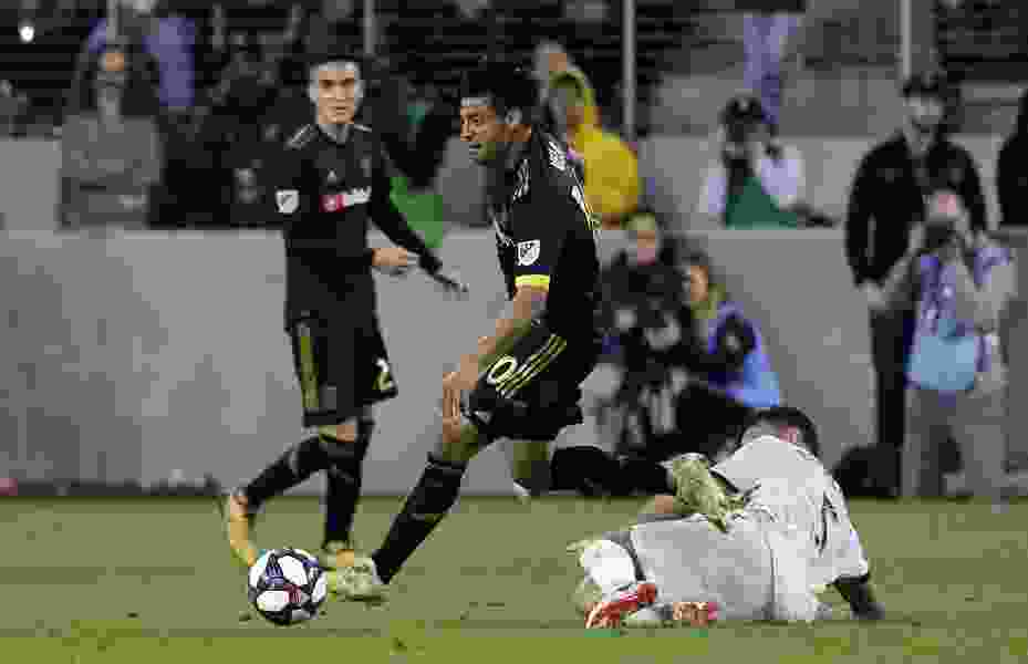 Short-handed Real Salt Lake loses 2-1 to LAFC off stoppage-time goal