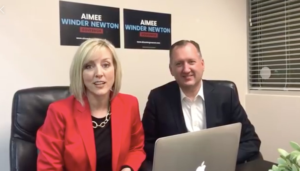 Hackers hijack Aimee Winder Newton's virtual town hall with pornography and racial slurs