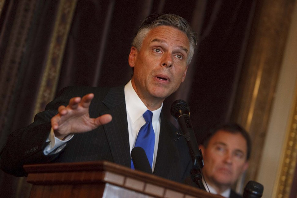 (Trent Nelson | Tribune file photo) Jon Huntsman Jr., seen here in 2008 while he was Utah's Governor.