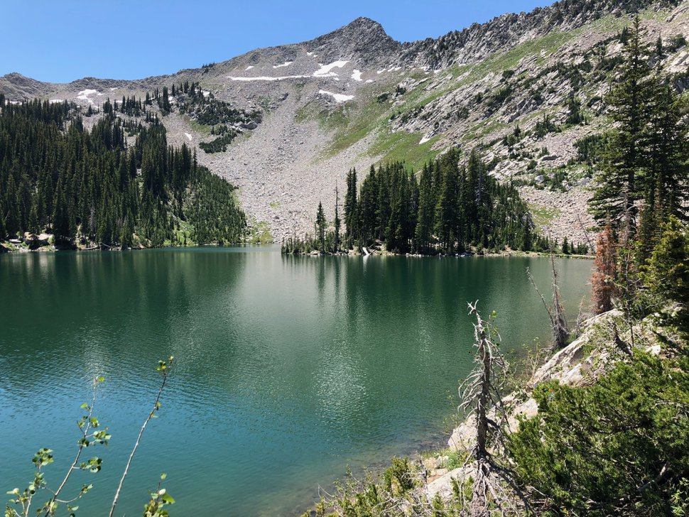 (Brian Maffly | The Salt Lake Tribune) Red Pine Lake is a steep 3-mile hike from Little Cottonwood Canyon's White Pine Trailhead.