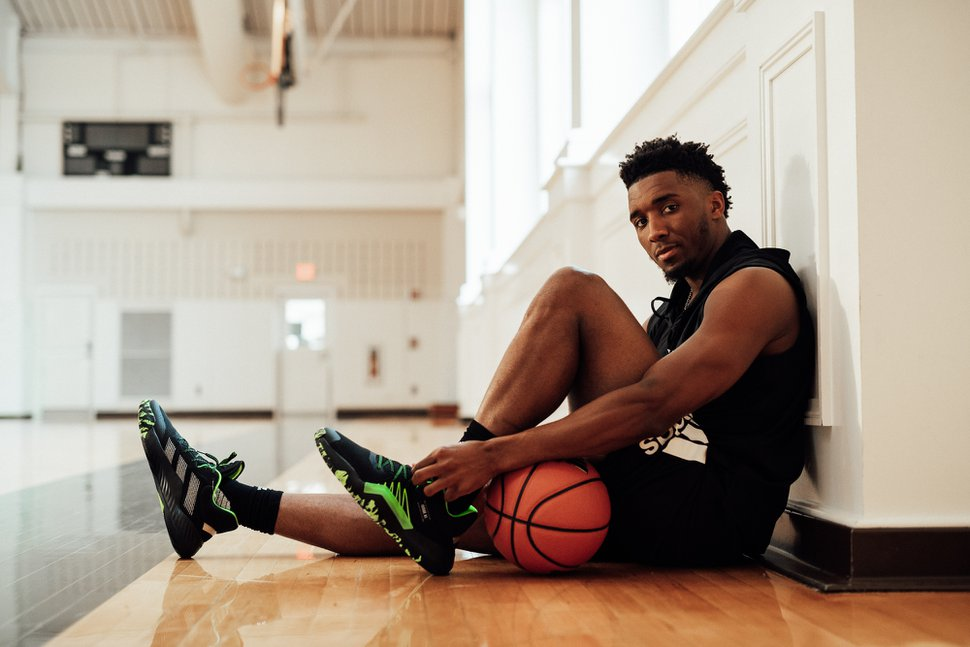 Jazz star Donovan Mitchell unveils media campaign with four