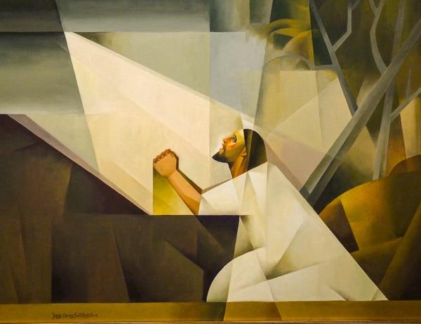 (Leah Hogsten | The Salt Lake Tribune) Jorge Cocco Sant‡ngelo's Getsemani, or