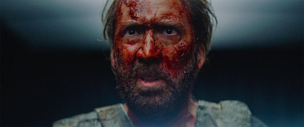 ( | courtesy Sundance Institute) Nicolas Cage plays a man seeking bloody revenge in Panos Cosmatos'