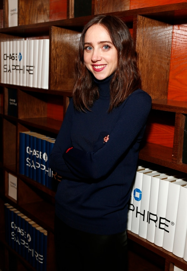 IMAGE DISTRIBUTED FOR CHASE SAPPHIRE - Actress Zoe Kazan from