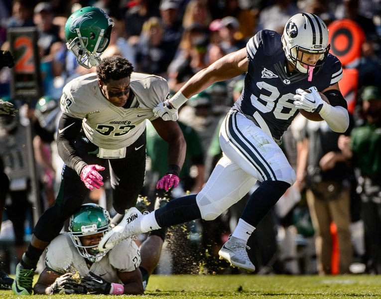 a5d7030e7 BYU football  Losing star LB Francis Bernard for season forces Cougars to  make some adjustments on defense