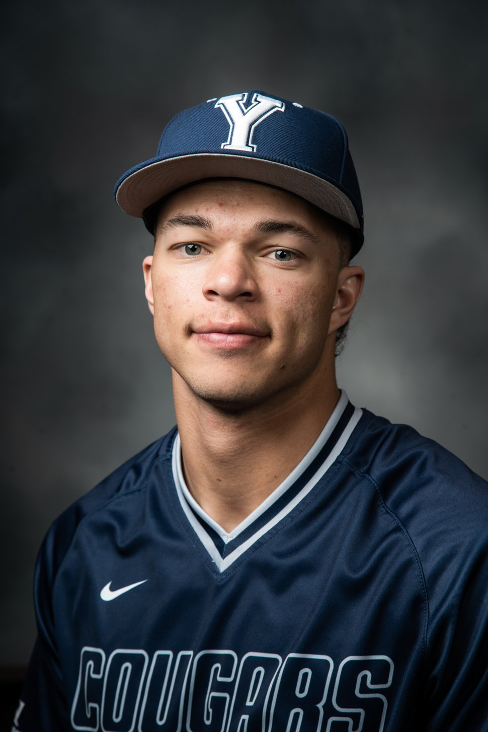 (Photo courtesy of Jaren Wilkey, BYU photo) | BYU freshman Jaren Hall played quarterback for the Cougars' football team last fall and will play right field for the Cougars' baseball team this spring, the latest BYU athlete to try his hand at two sports.