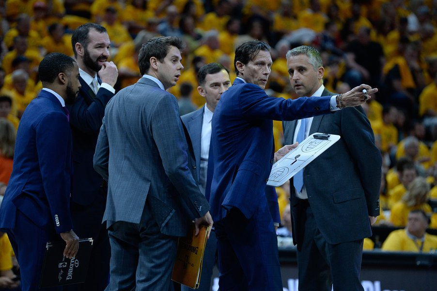 Jazz coach Quin Snyder's new initiative puts team's entry