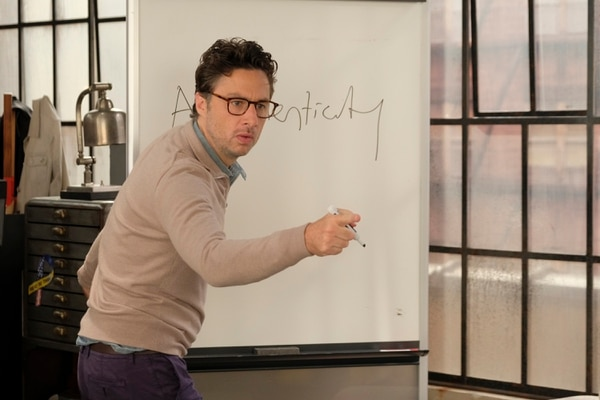 "(Photo courtesy of Tony Rivetti)/ABC) Zach Braff is the executive producer, director and star of ""Alex, Inc."""
